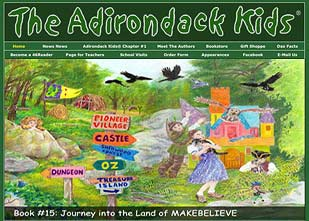 Adirondack Kids Website Design